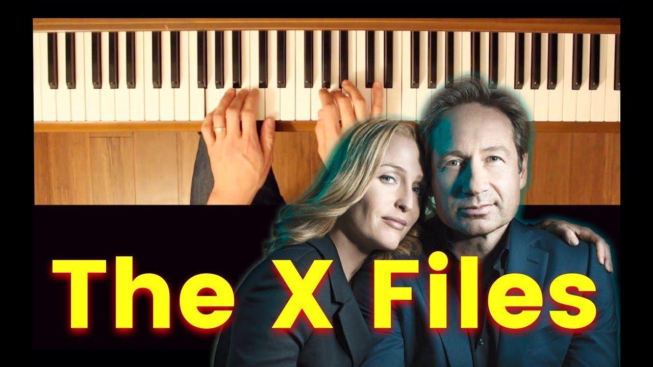 X Files Theme Piano Tutorial Piano Tutorial Theme Song X Files