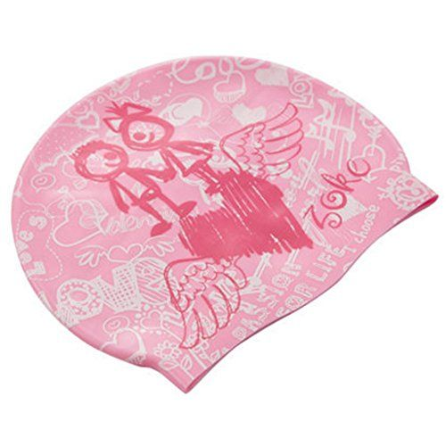 Womens Swim Cap Silicone Swimming Hat Diving Hat Sports Rose Red     Be  sure to check out this awesome product.Note It is affiliate link to Amazon. 151b2a7cb19