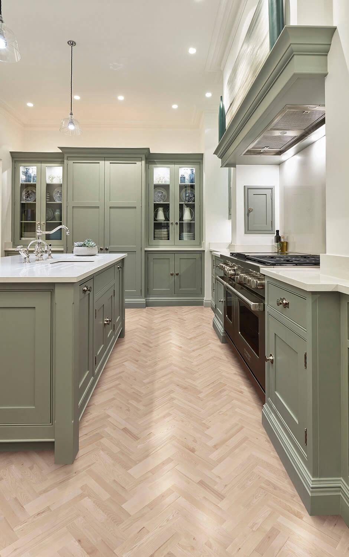 Sage Green Kitchen | Shaker Kitchens | Tom Howley -   17 sage green kitchen cabinets ideas