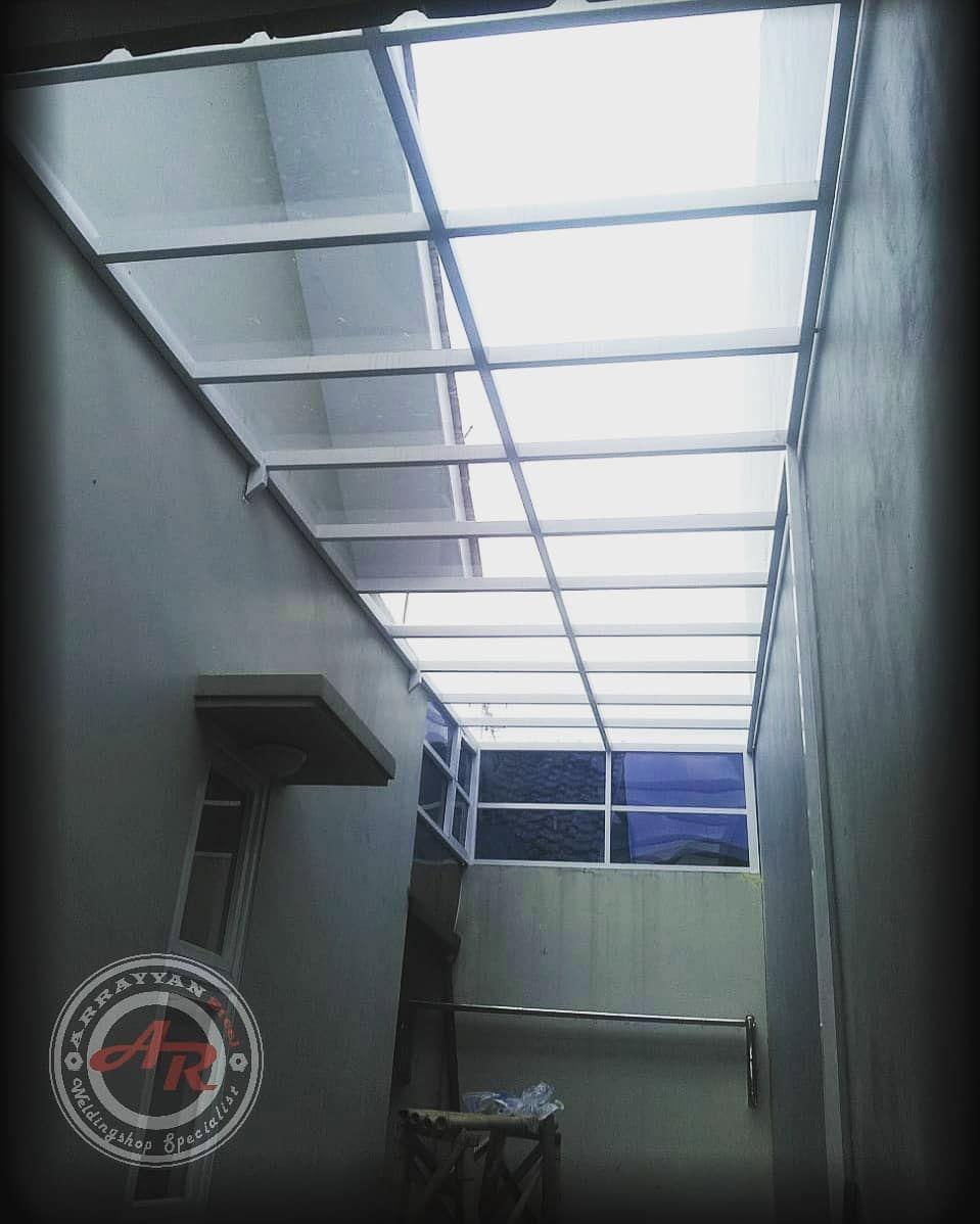Desain Contoh Atap Dapur Transparan