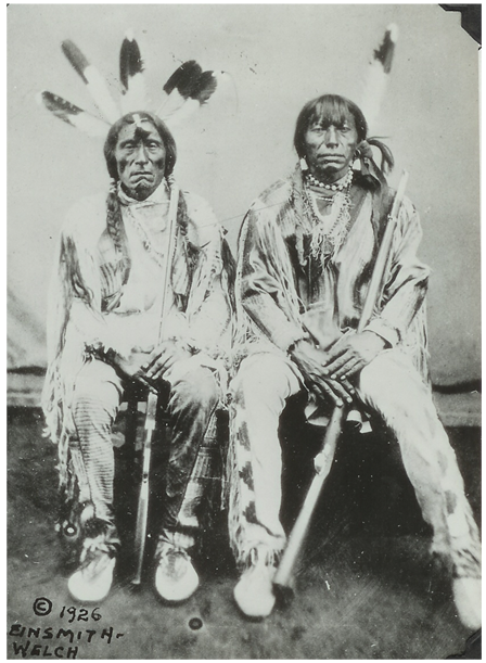 """""""Antelope"""" (under-chief, Fort Berthold, 1872)  Badger called them PORCUPINE AND ANTELOPE, underchiefs of Gros Ventres, 1872, Fort Berthold……Red Bear (11-20-22) identified as Fine Porcupine and Plenty Antelope – Gros Ventre."""