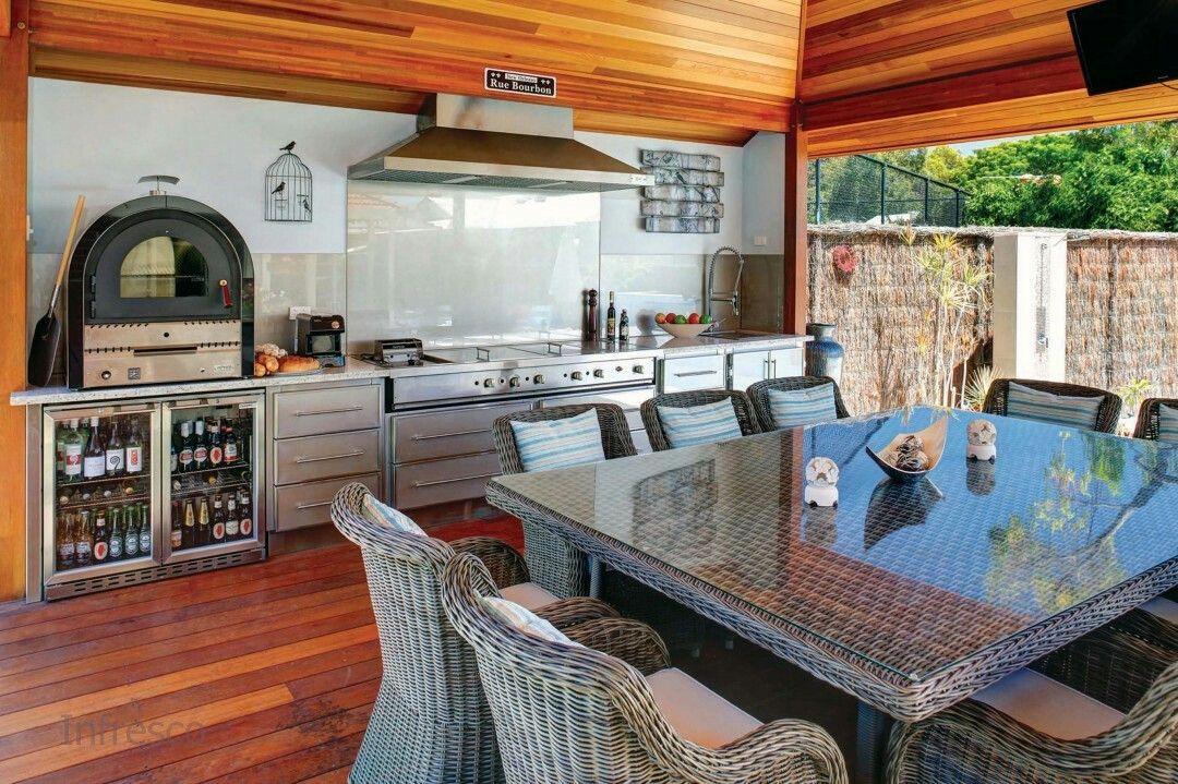 Outdoor Kitchen Outdoor kitchen, Kitchen, Indoor bbq