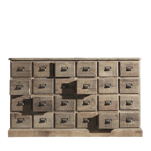 Chest Of 24 Drawers In 2020 Steel Storage Cabinets Functional Decor Modern Chest Of Drawers
