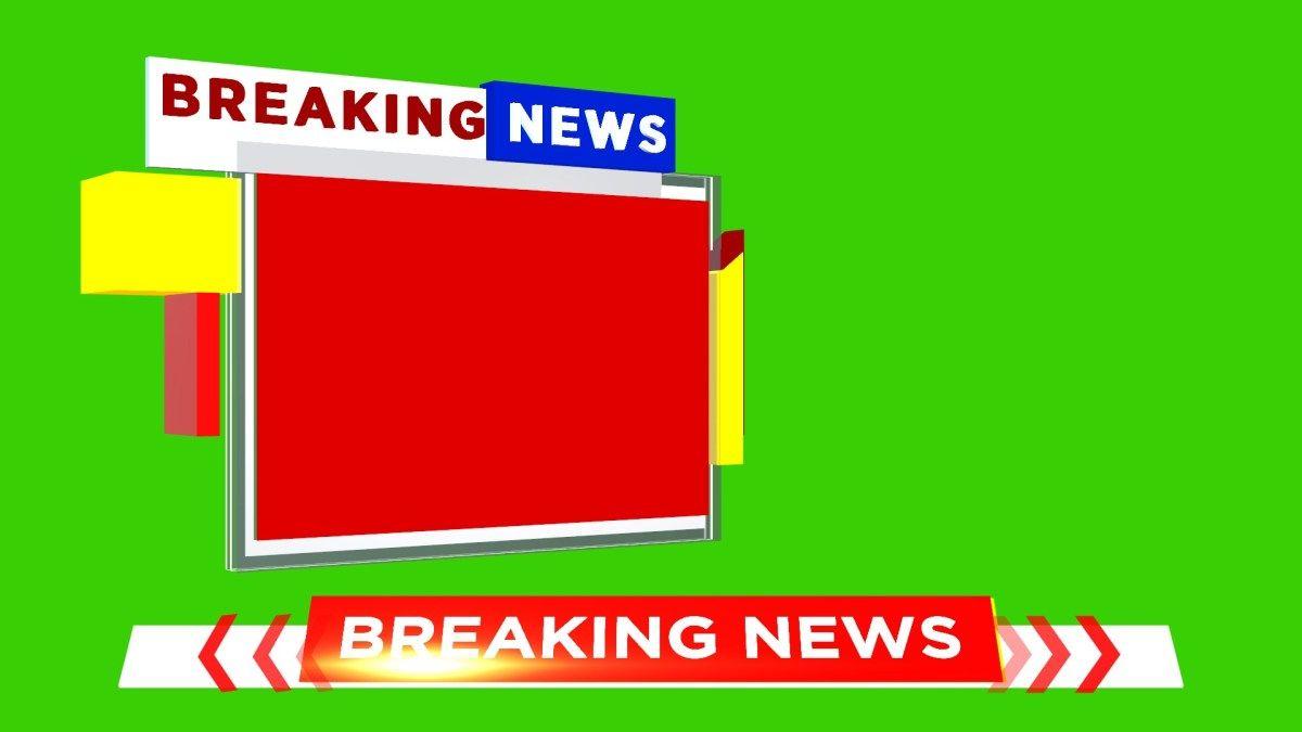 Download Free Green Screen Breaking News Template In 2020 Free Green Screen Greenscreen Breaking News