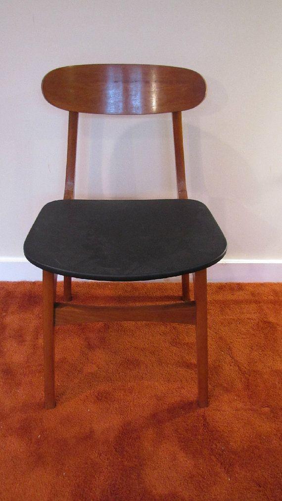 Mid Century Modern Dining Chair Made in Yugoslavia