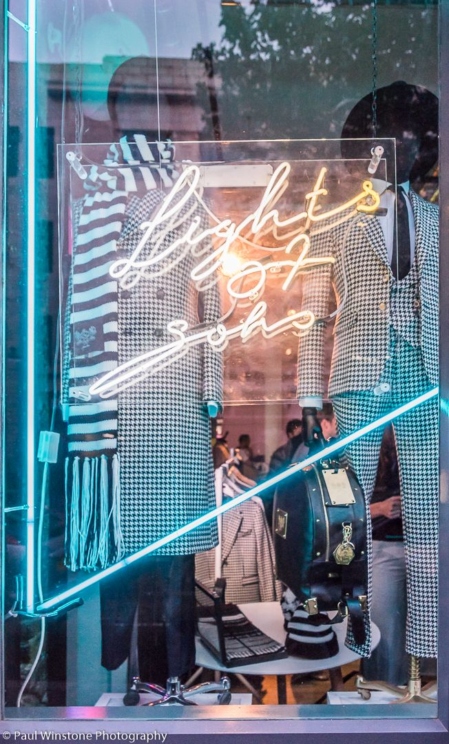 The collection of Joshua Kane looked fantastic in our front window  @lightsofsoho #lightsofsoho http://lightsofsoho.com/