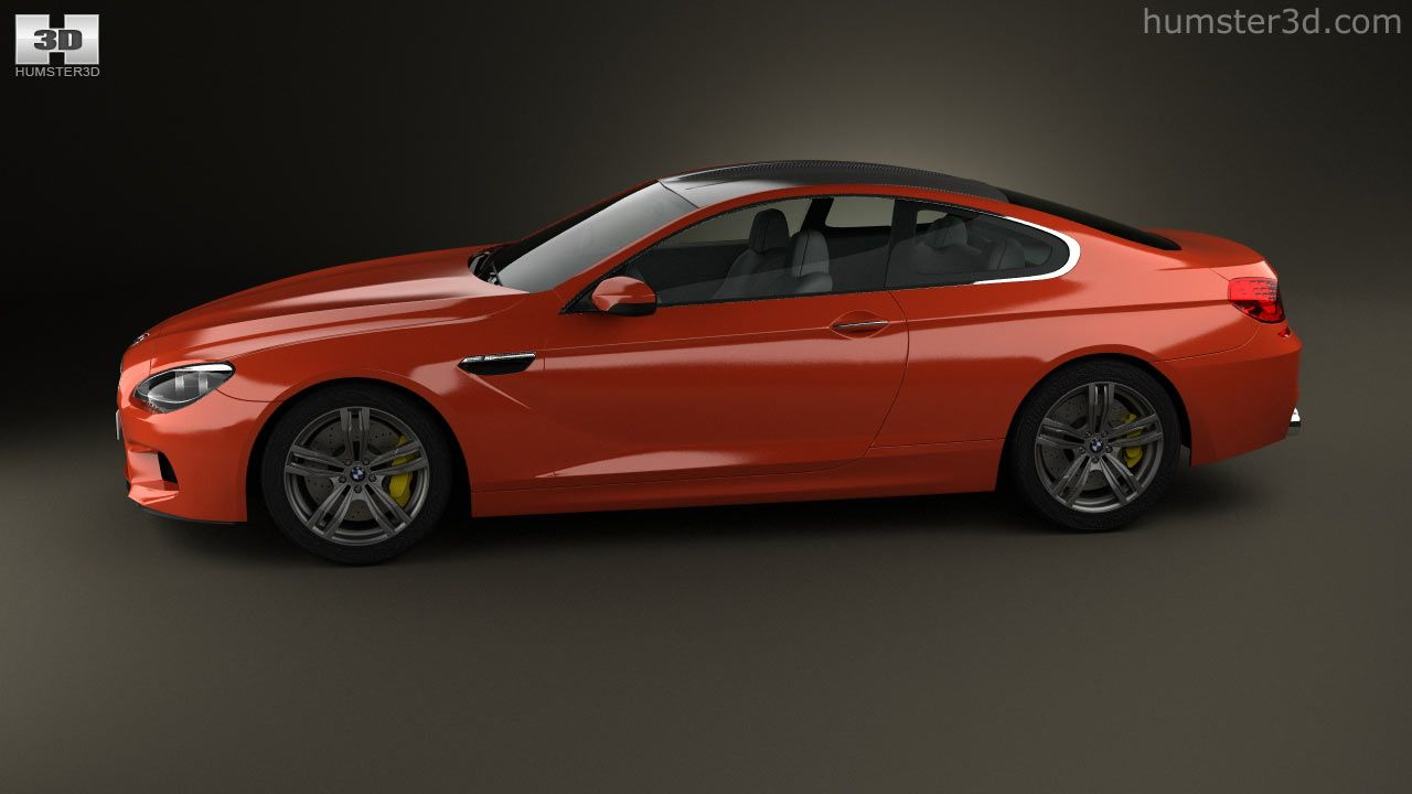 360 view of BMW M6 Coupe (F13) 2013 3D model | Humster3D store
