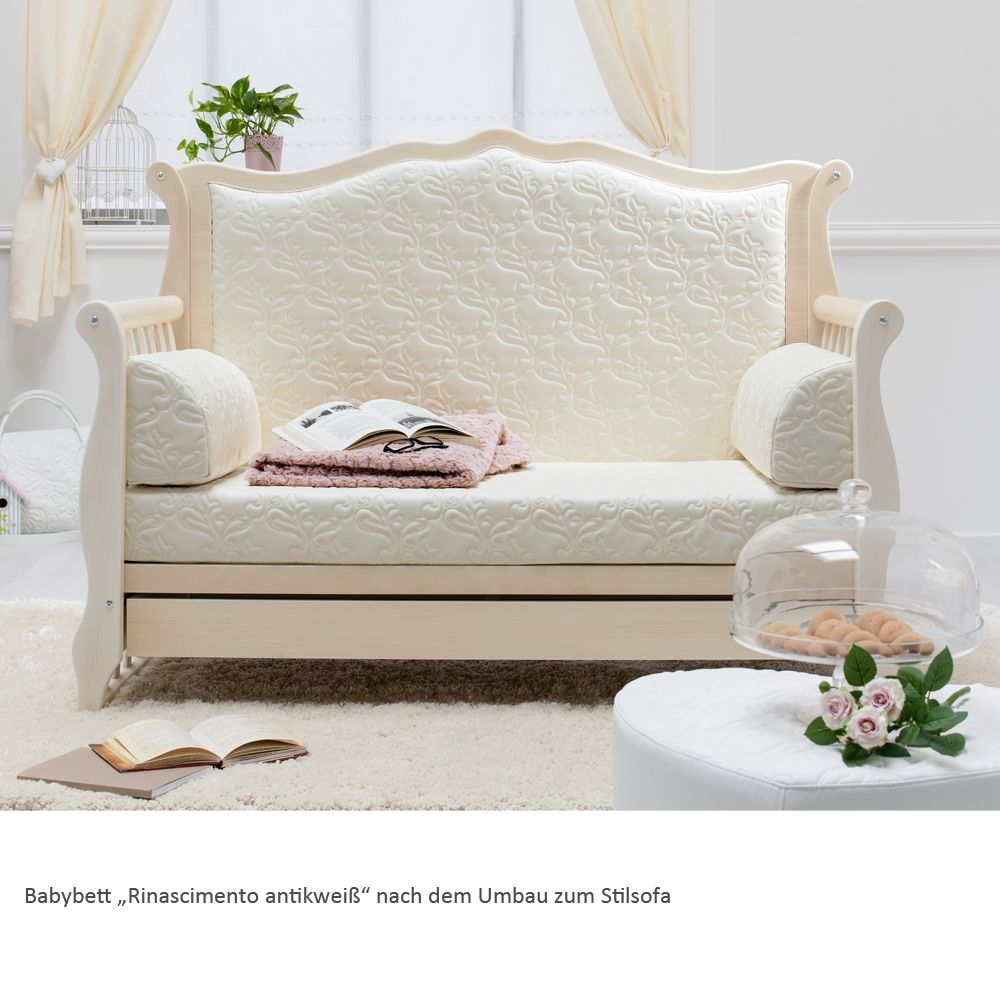 auch ein babybett kann mitwachsen . . . hier präsentiert sich das ... - Suse Babybett Designs Babyzimmer