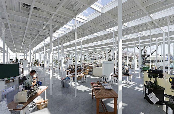 Modern Architecture: Japanese School Made of Glass (7 photos) - My Modern Metropolis Ishigami
