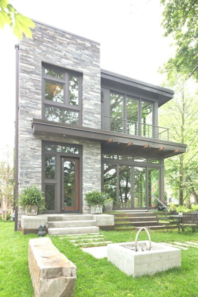 Modern Organic Home By John Kraemer Sons In Minneapolis Usa: Fachadas De Casas, Arquitetura Residencial, Casas