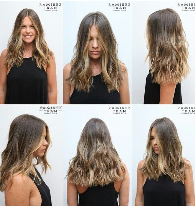 Braune und blonde Haare, braune Haare – Lisa Firle