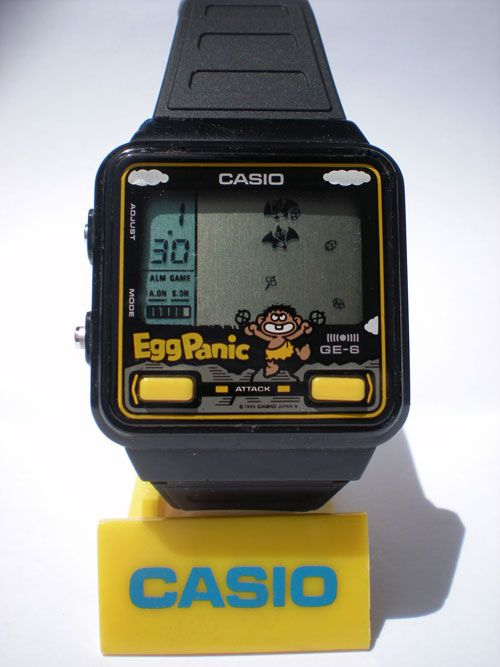 Visual feed casio game watches acclaim gadgets pinterest for Thermo scanner watch