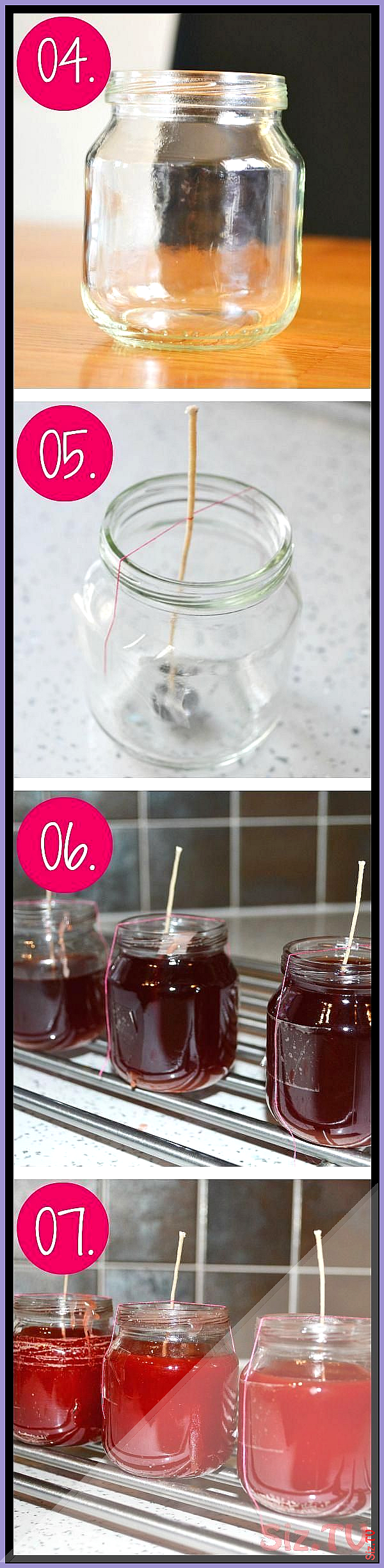 Learn how to Melt Your Old Candles and Make them into New ones I upcycled some Used Baby Food JarsPerfect size Leannes Blog www suggys co uk Learn how Learn how to Melt Y...