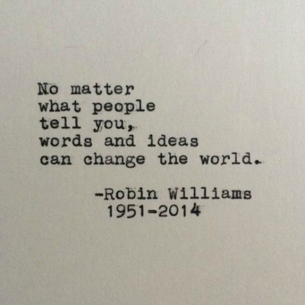 10 Quotes That Remind Us How Much We Miss (& LOVE!) Robin Williams