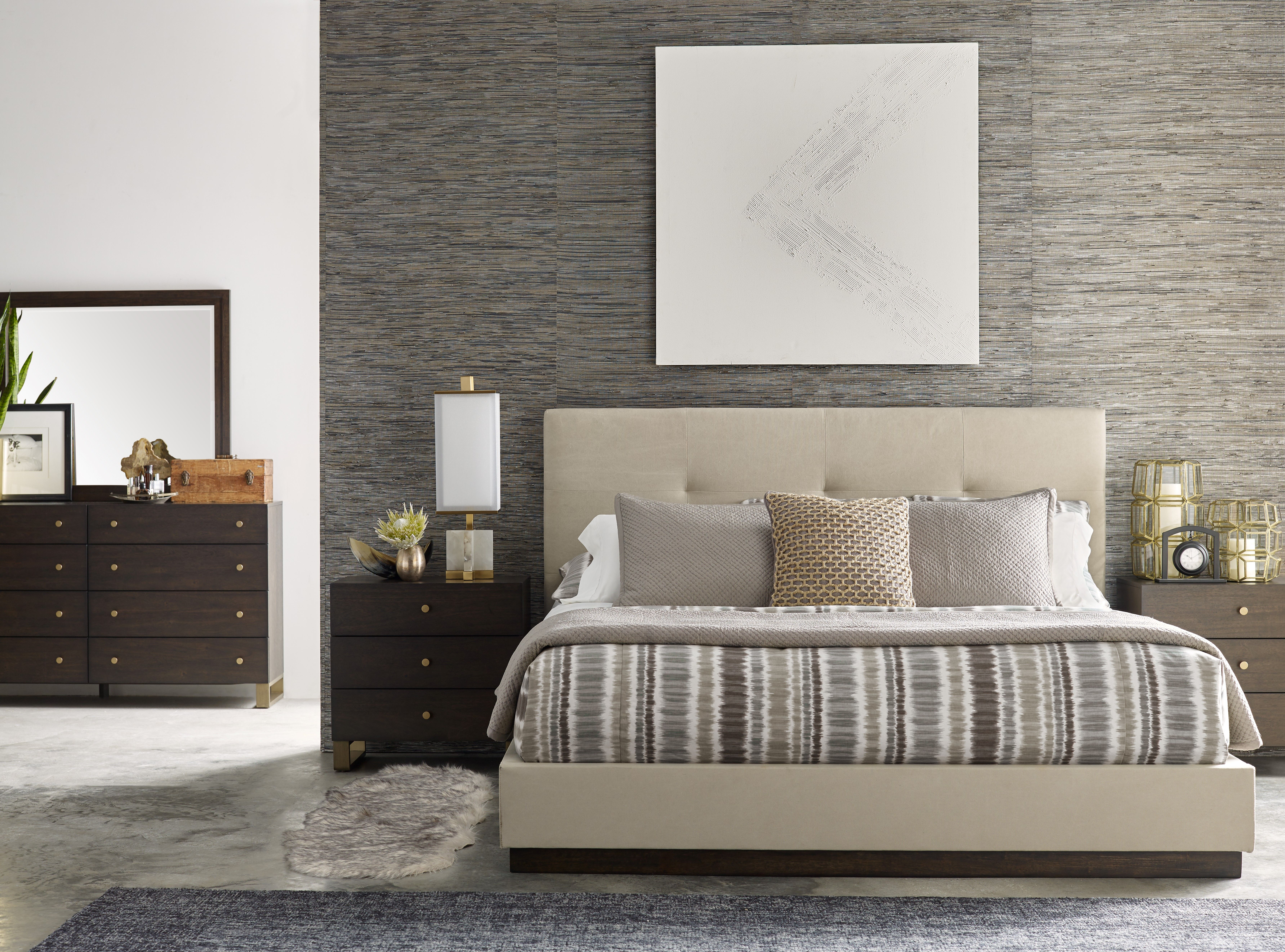 Austin Upholstered Bed By Rachael Ray Home Rachaelray
