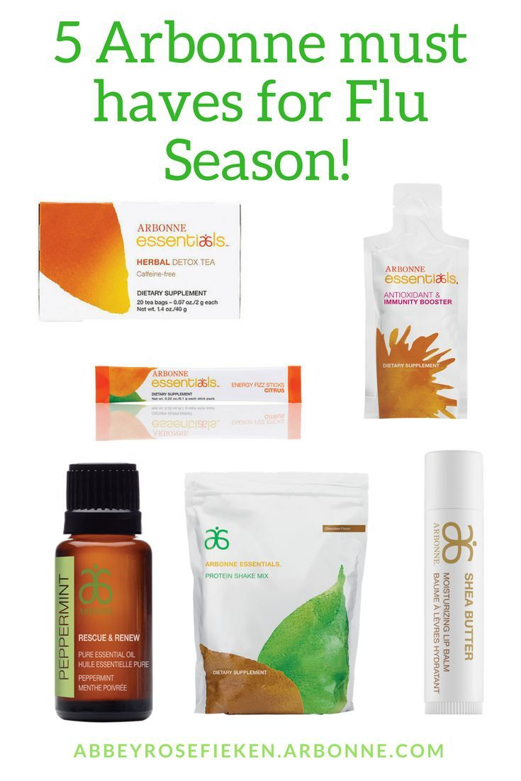 6 Arbonne must haves for flu season! #arbonnerecipesdetox