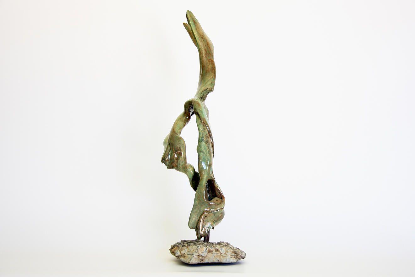 Yves Lavallée - L\'envol - Driftwood Sculpture Bois flotté | Chairs ...