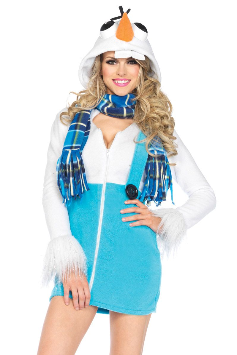 Shop fairytale costumes like this Cozy Snowman Costume at Lingerie ...