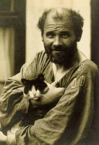 Klimt e seu gato