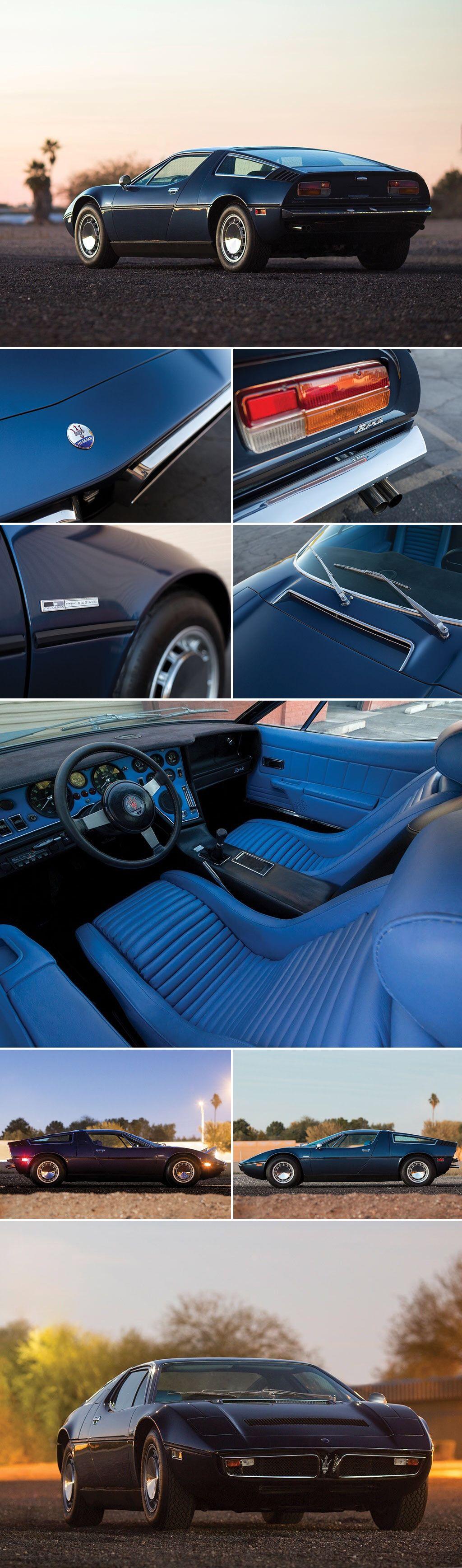 1975 Maserati Bora 4.9 | Maserati bora, Maserati sports ...