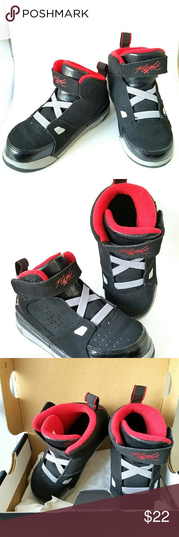41e82a911a5872 Nike Air Jordan Flight SC2 Black Red Basketball Nike Air Jordan ...