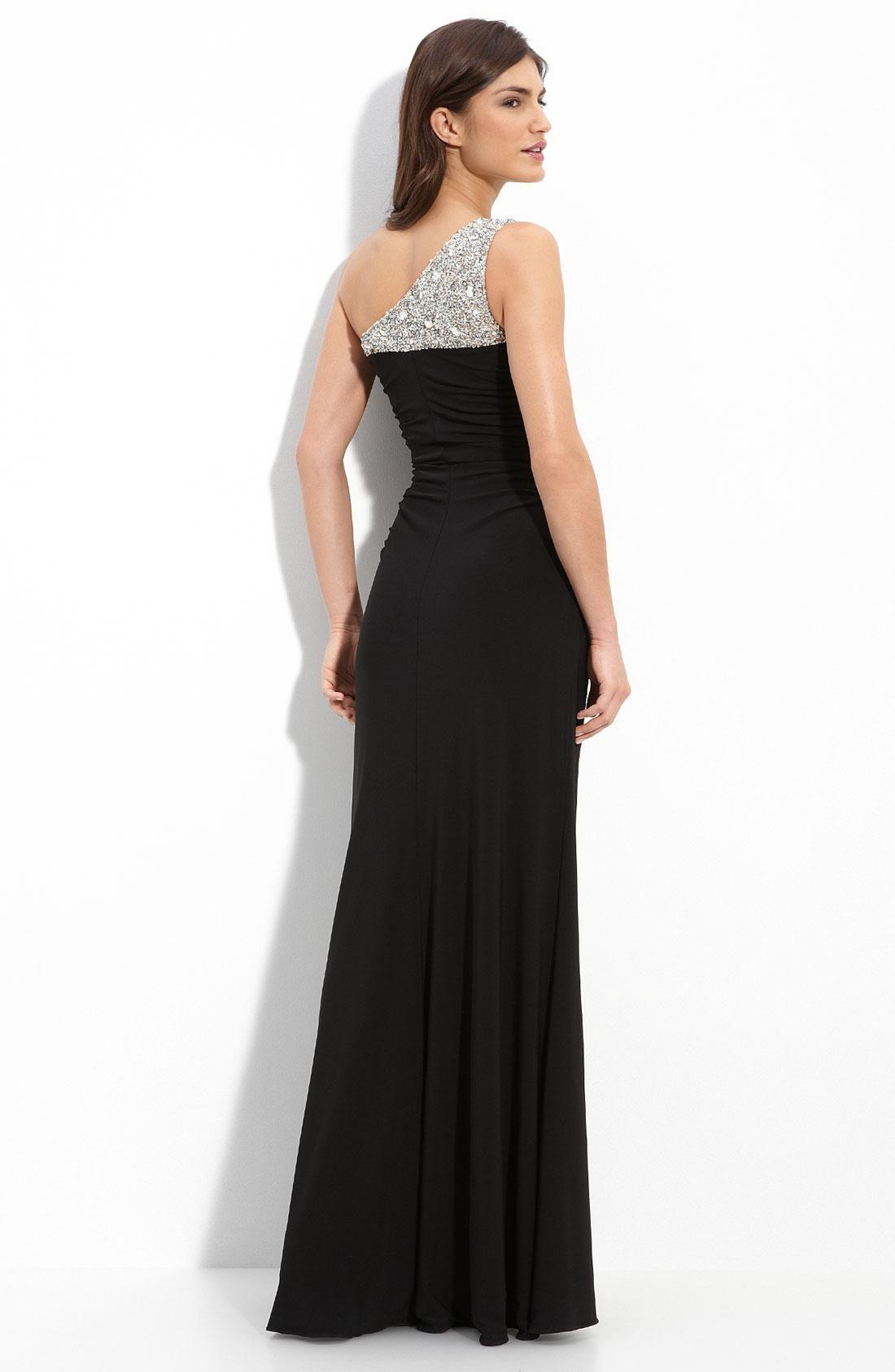 Long Black Dress For Wedding Party Plus Size Dresses For Wedding Guest Check More At H Long Black Evening Dress Black Evening Dresses Black Long Evening Gown [ 1687 x 1100 Pixel ]