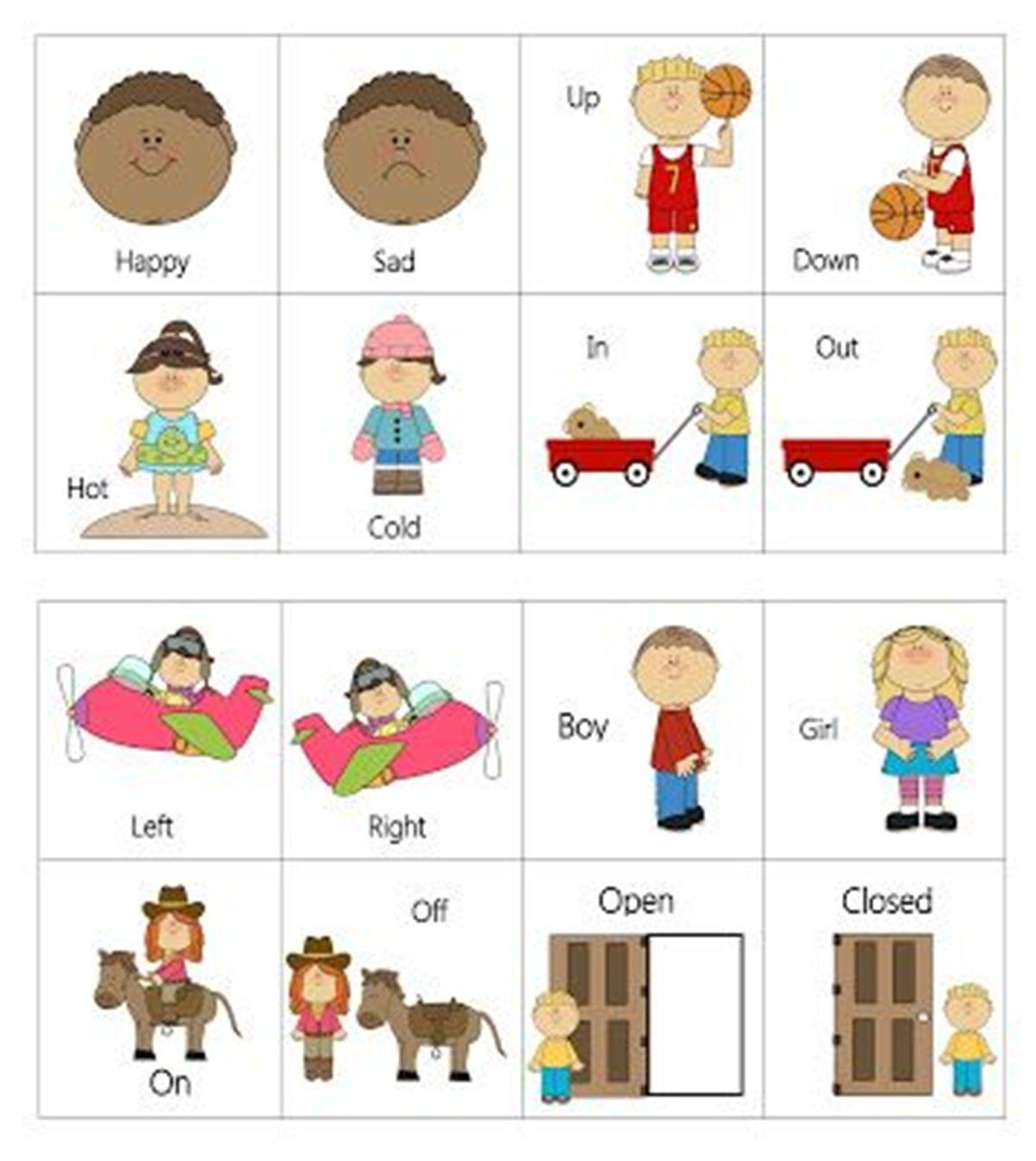 worksheet Opposite Worksheets opposites in the english language learn pinterest online learning community