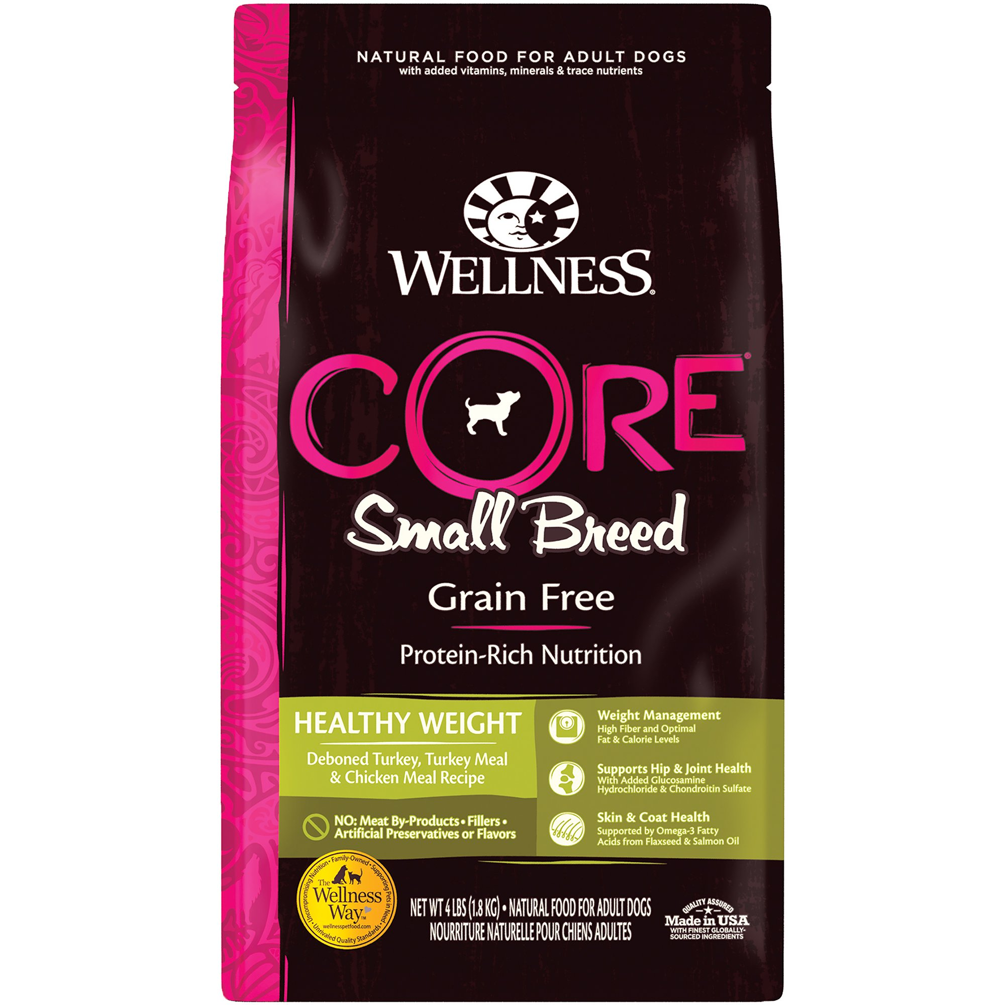Wellness CORE Natural Grain Free Small Breed Healthy