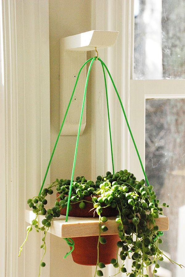 Diy Wall Hanging Planter Diy Hanging Planter Hanging Flower