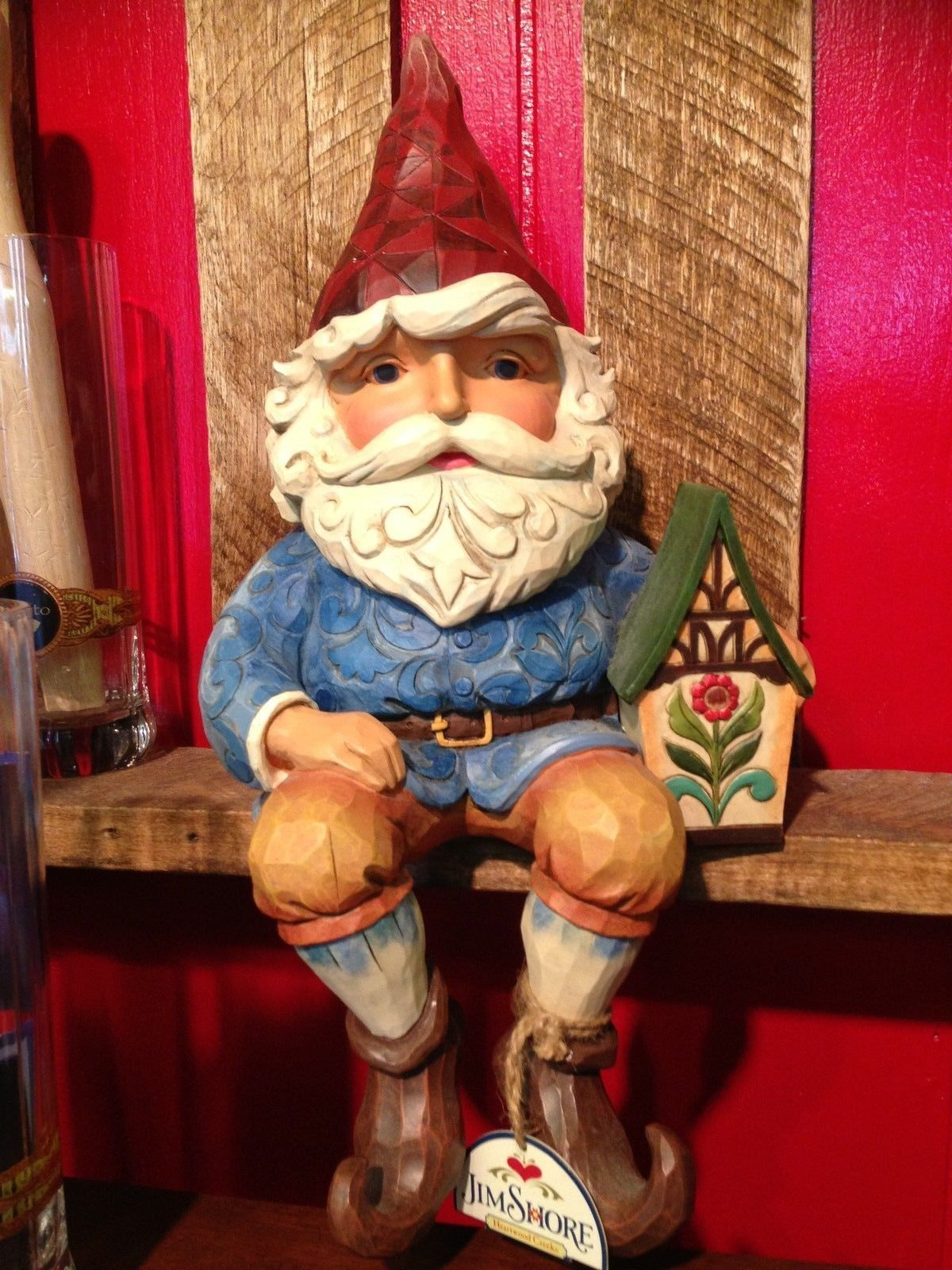 Gnome In Garden: Jim Shore Gnome Large Indoor Outdoor
