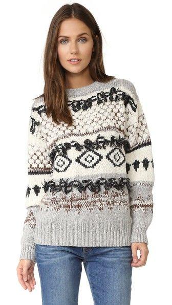 The Boyfriend Sweater | Shaggy, Neckline and Shoulder