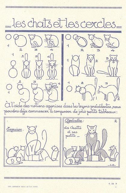 gato #Animales #Naturaleza #Dibujos #Ilustraciones #Artistas ...