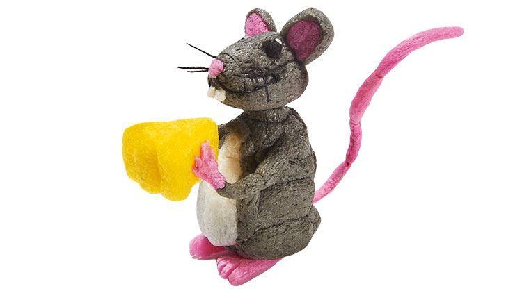 Fischertip Playmais Modell Bastelidee Maus Playmais Basteln Basteln Mit Kindern Spiel Und Spass