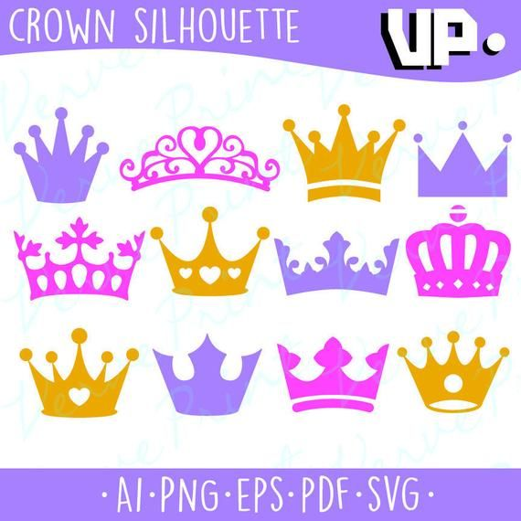 e3cd4254bf5 Crown Silhouette Svg
