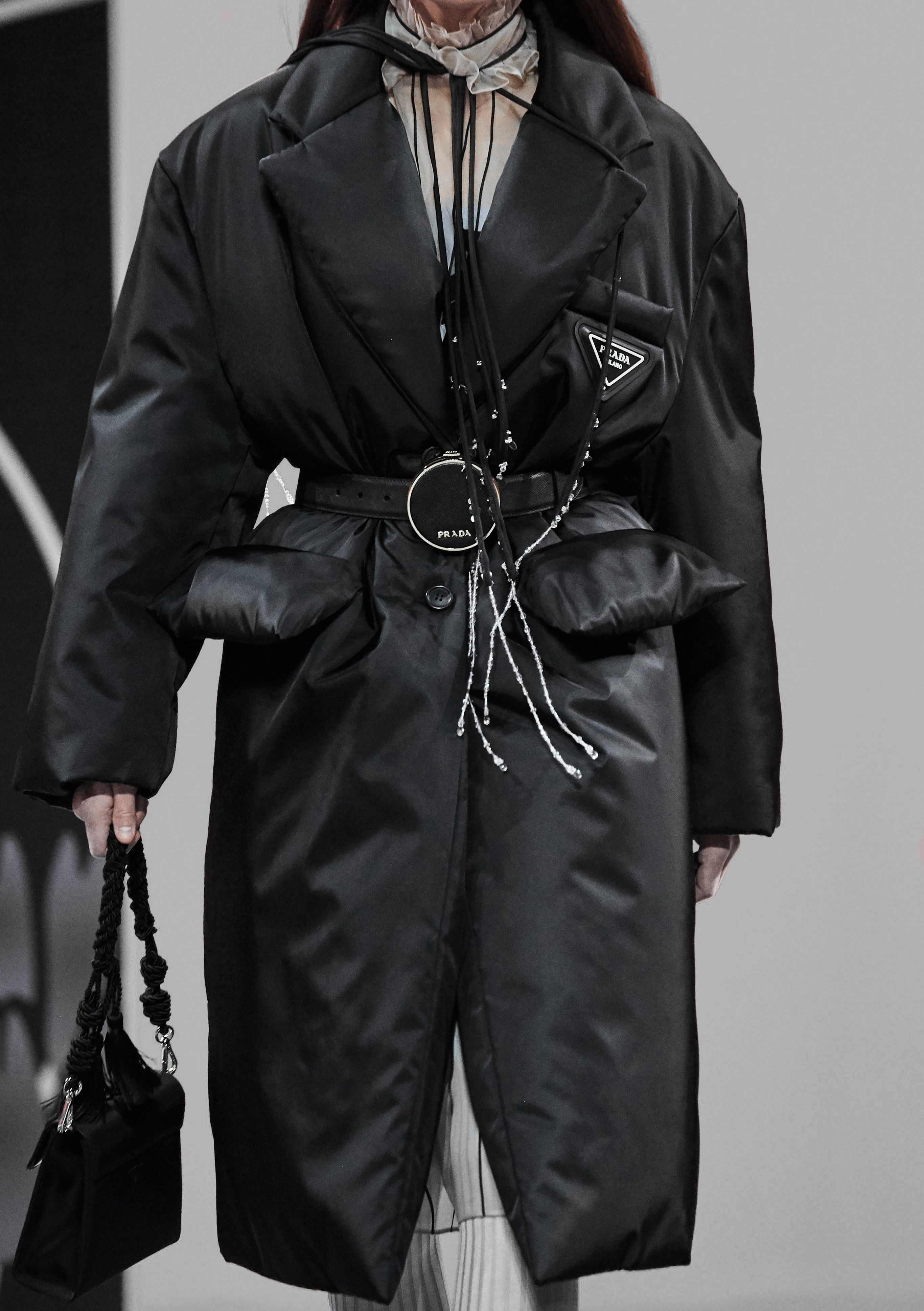 Prada Fall 2020 Clothes Leather Jacket Clothes For Women [ 3875 x 2732 Pixel ]