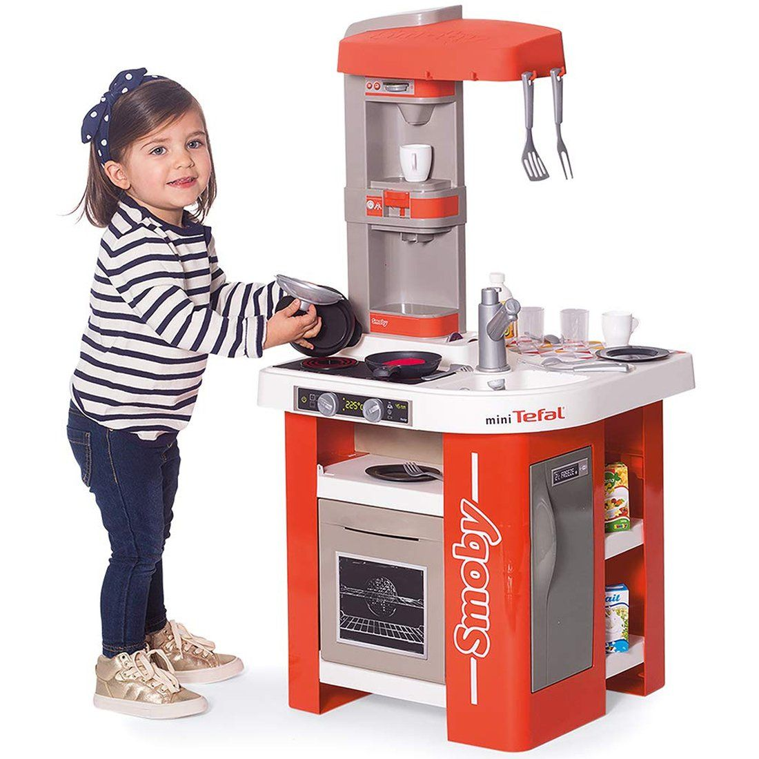 Duza Kuchnia Dla Dzieci 27 Akc Tefal Studio Smoby Brykacze Pl Internetowy Sklep Z Zabawkami Dla Dzieci Kids Kitchen Studio Kitchen Best Play Kitchen