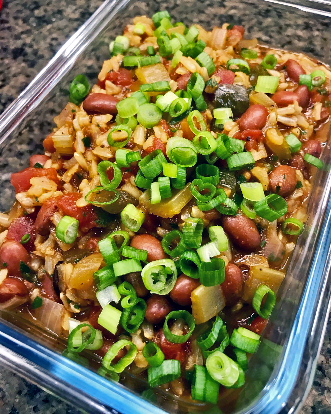 Vegetarian Jambalaya for one of our clients. Let our
