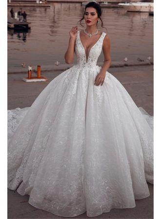 Photo of A Linie Brautkleider Günstig Kaufen | Festliche Kleider zur Hochzeit_A-Linie Brautkleider_Brautkleider_Brautkleider,Abiballkleider,Abendkleider