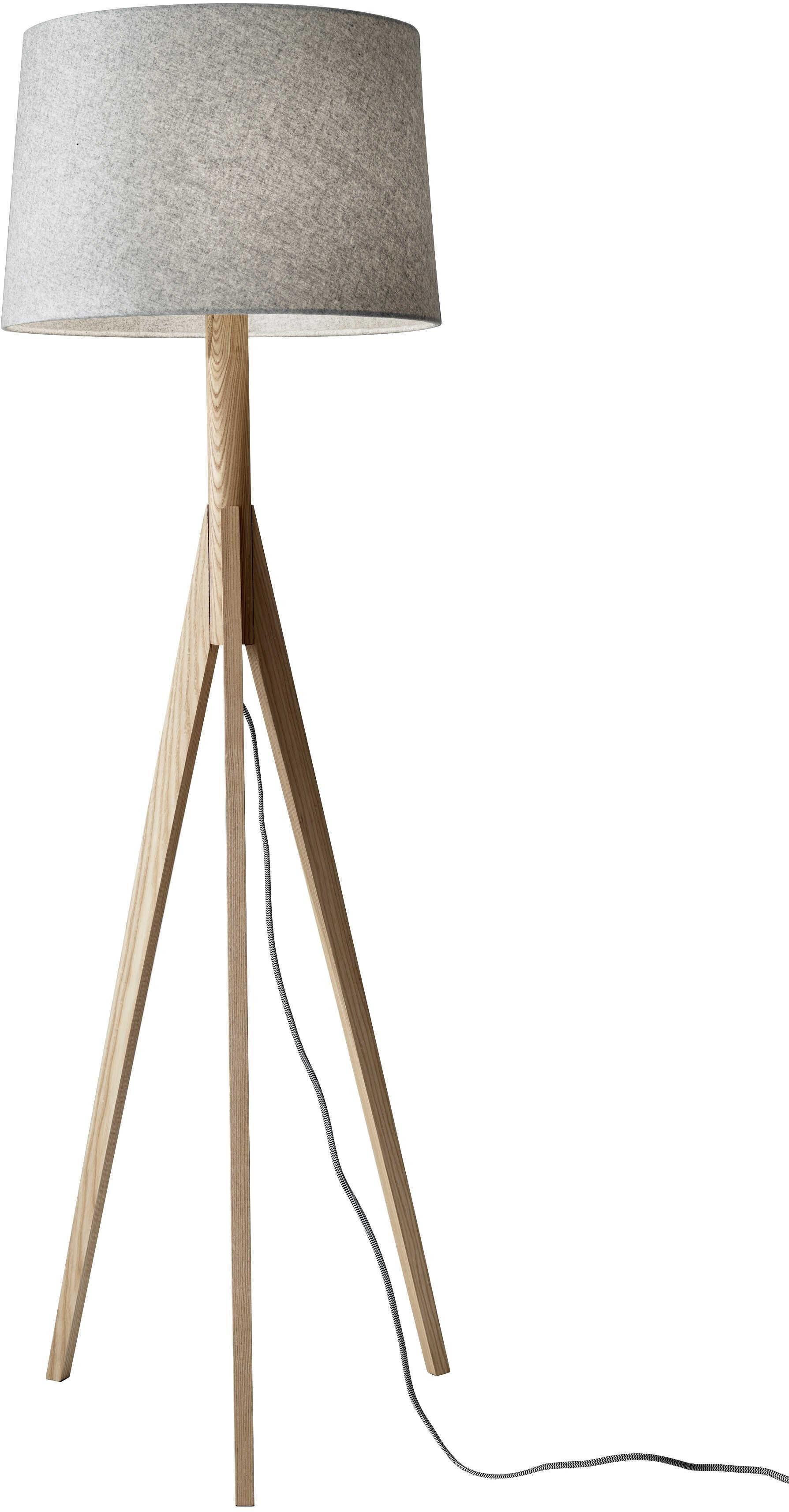 Adessodirect Rustic Floor Lamps Floor Lamp Tripod Floor Lamps