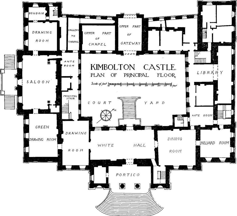 Kimbolton Castle Floor Plan Castle Plans How To Plan