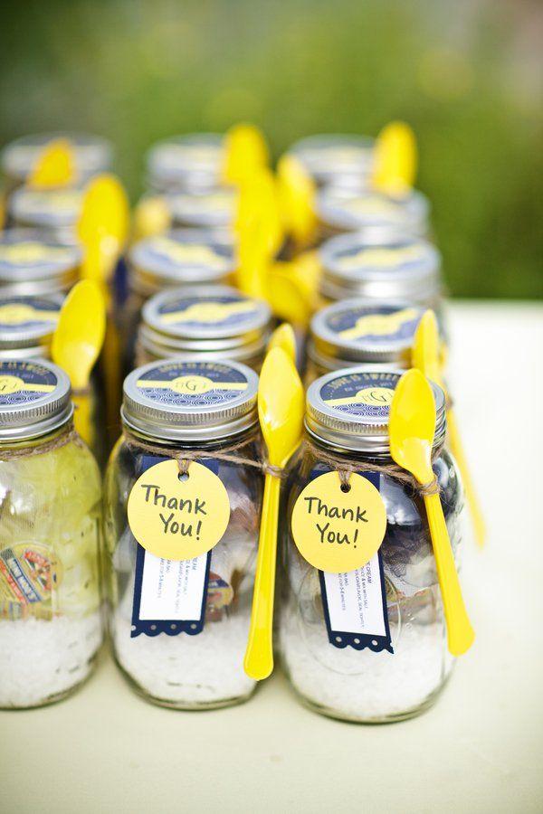 10 Favors For A Rustic Wedding Mason Jar Wedding Ideas Pinterest