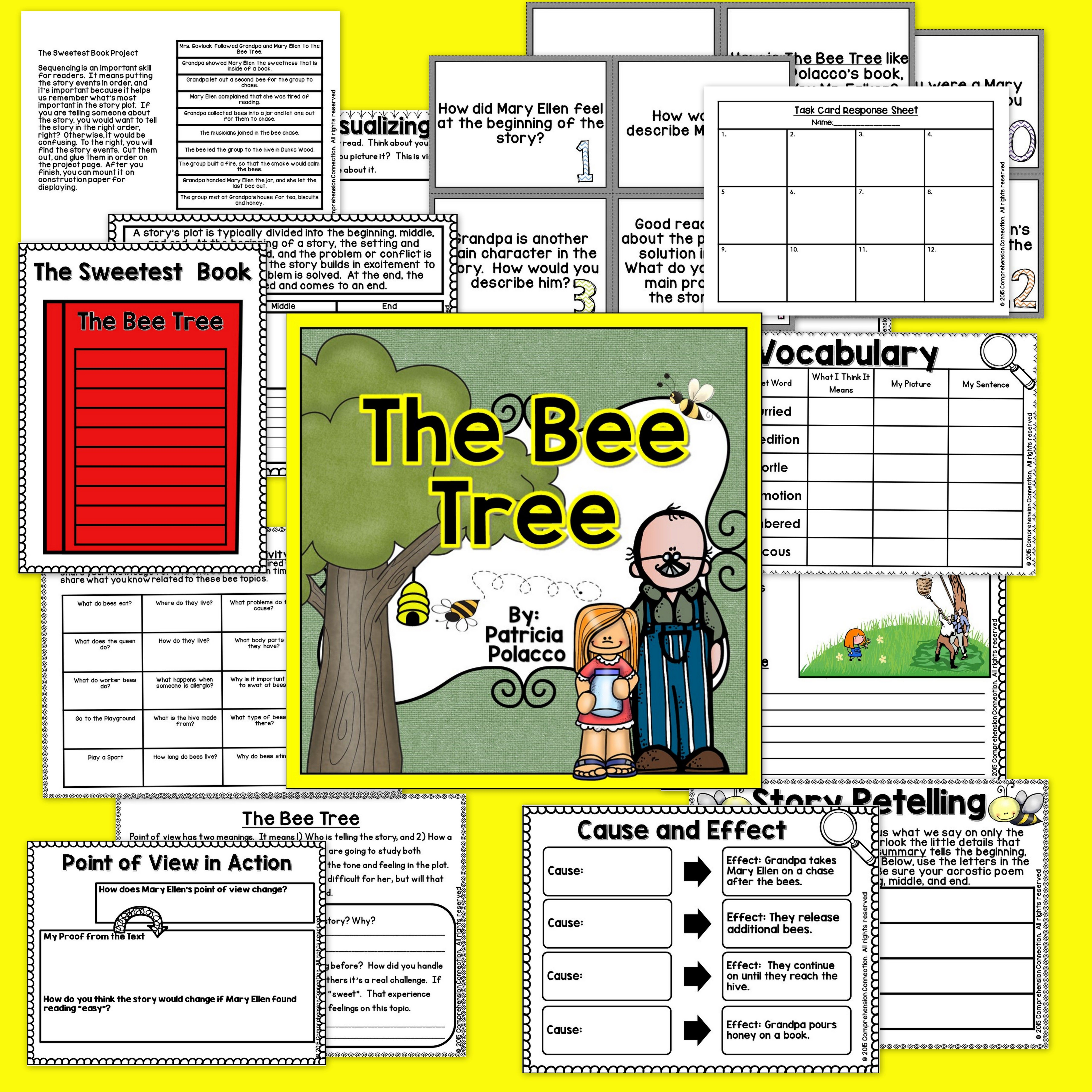 The Bee Tree Activities In Digital And
