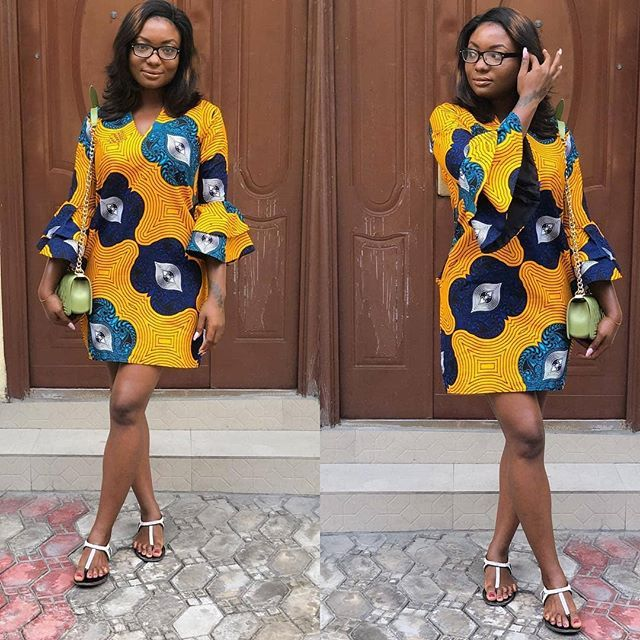 Best Ankara Short Gowns (June 2018)