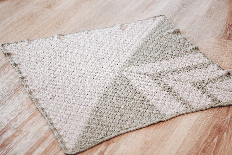 C2C Horizon Baby Blanket - Free Crochet Pattern #c2cbabyblanket