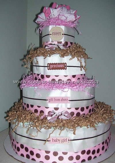 Coolest Diaper Cake Directions And Photos Cool Birthday