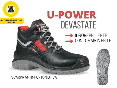 € 43,00 U-POWER Scarpa antinfortunistica modello DEVASTATE