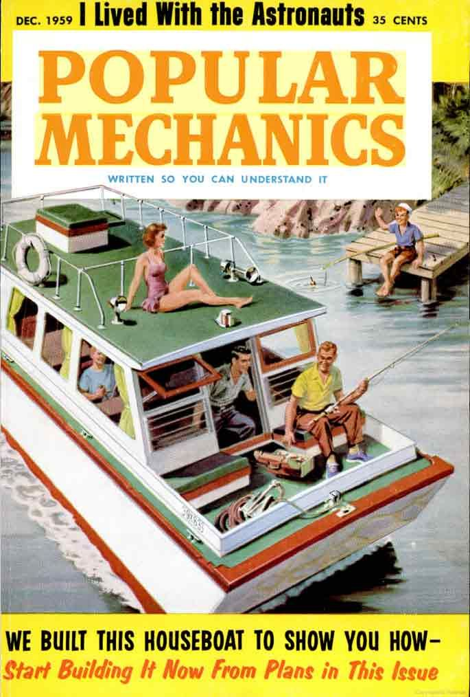 houseboat plans vintage woodworking projects