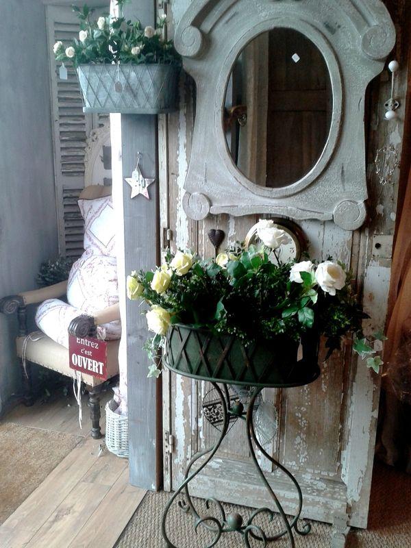 jardinière chehoma,miroir oeil de boeuf, Home Déco Pinterest