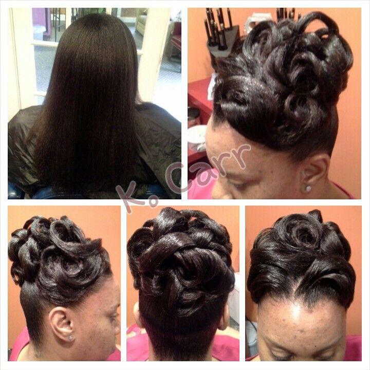 Weddingupdo Noweave Black Women Updo Hairstyles Black Hair Updo Hairstyles Bridesmaid Hair