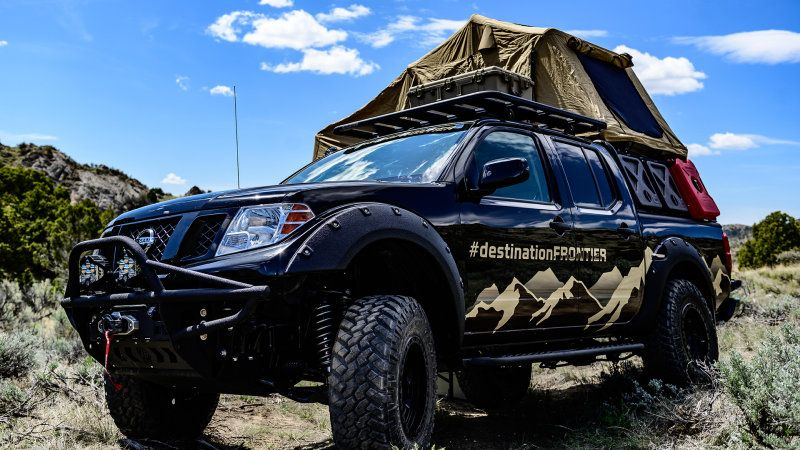 Overland Expo West >> Nissan Brings Destination Frontier Concept To Overland Expo